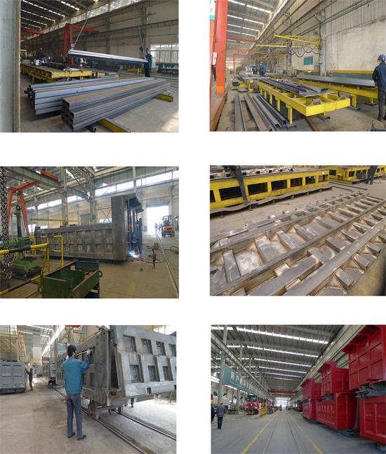 The production of flatbed semi trailer from Chengda Trailer.jpg