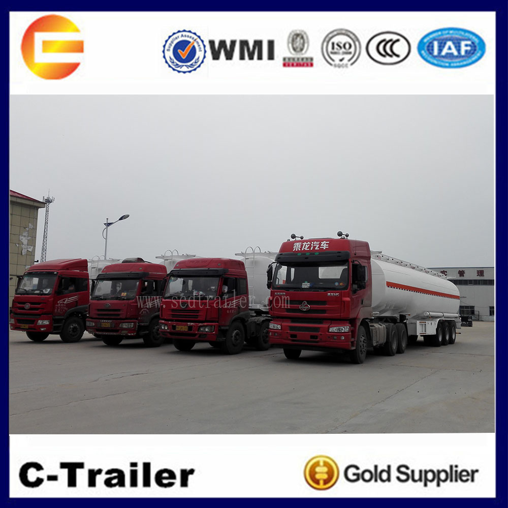 4 units oil tanker trailer were exported to Tanzania.jpg