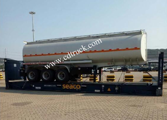 fuel tanker semi trailer for sale