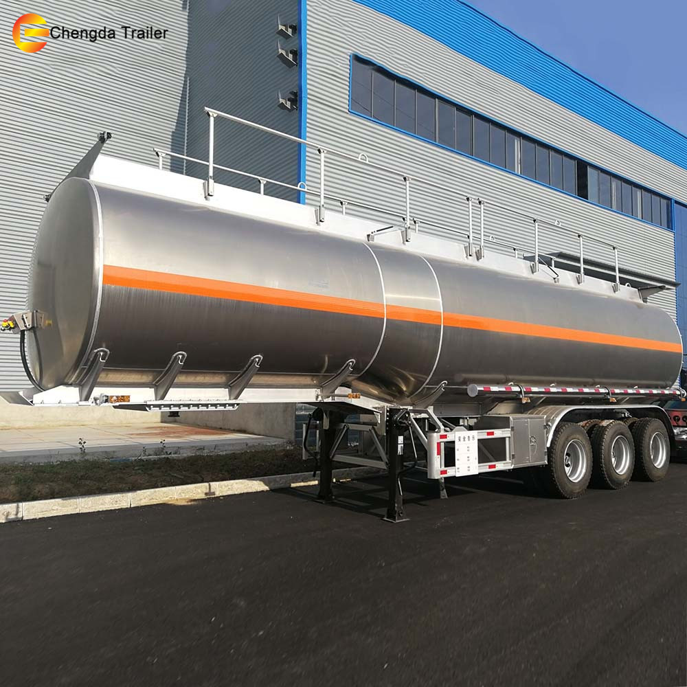 China 3 Axle 45000 Liters Fuel Milk Tankers Tank Trailer For Sale Wiring Harness Han