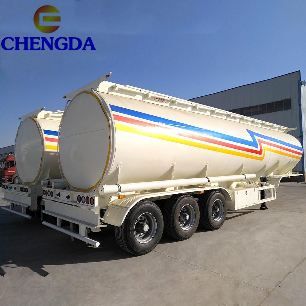 45000, 50000 and 60 000 litre capacity fuel tanker trailer