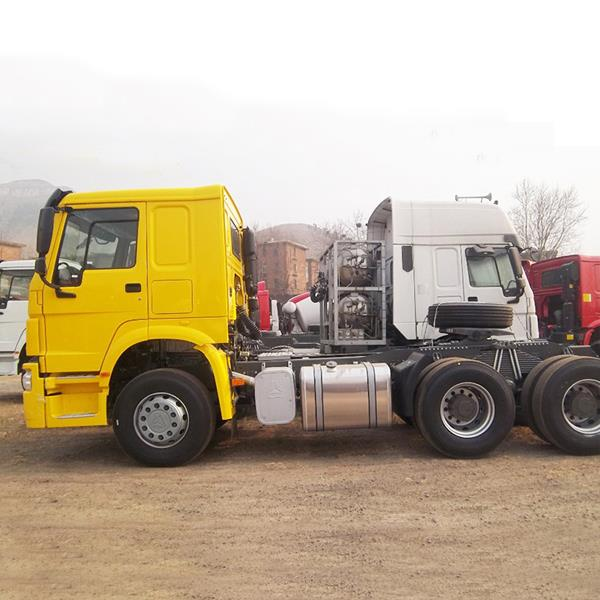 SINOTRUK HOWO 6X4 Cheap 371HP 10 Wheeler Commercial Tractor Prime Mover Truck Head