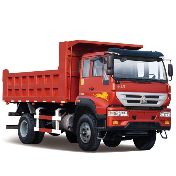 SINOTRUCK HOWO 4X2 16M3 Cheap 290HP 6 Wheeler Commercial Dump Dumper Truck Dealer