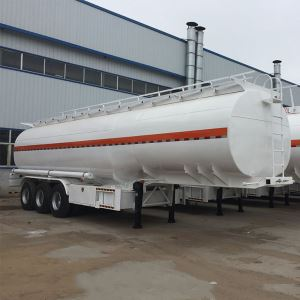 3 Axles 50000 Litres 3 Compartment Gasoline Oil Fuel Tank Semi Trailer
