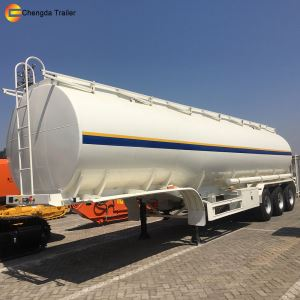 3 Axles Capacity of 42000 Litres Fuel Tank Semi Trailer