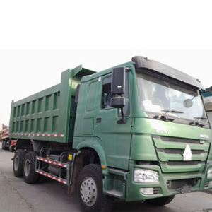 CHINA SINOTRUK HOWO 19M3 6X4 Cheap 336hp 10 Wheeler Commercial Sand Gravel Dump Tipper Truck