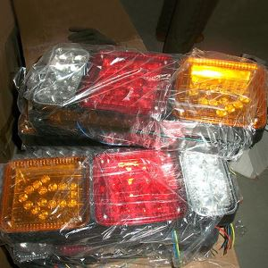 Truck and Trailer Rear Tail Side Turning Lights