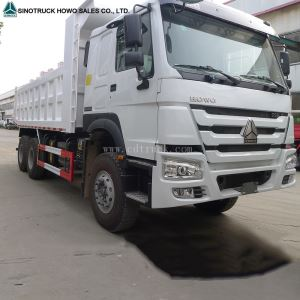 SINO TRUCK HOWO Diesel Heavy Duty Ten Wheeler 20 Cubic Meters New Dumper Truck Price