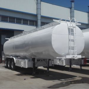 Triple Axles 36000Liters Oil Diesel Gasoline Fuel Tanker Semi Trailer