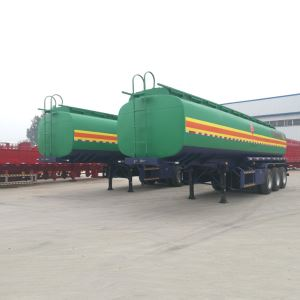 Tri Axles 45000Liters 5 Compartment oil diesel fuel tanker trailer