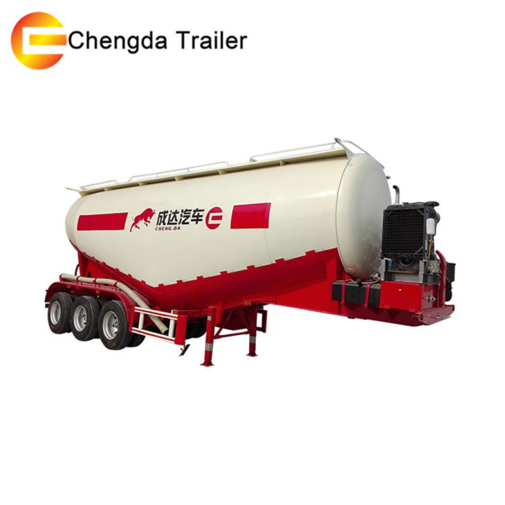 3 Axles 50 Ton 60 Ton Cement Bulker Tank Trailer