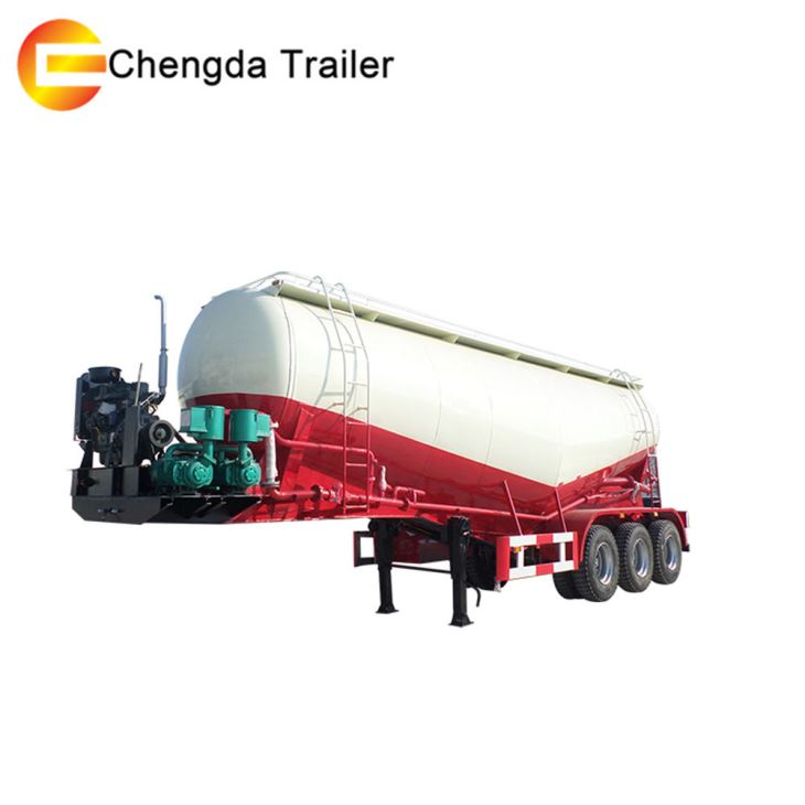 3 Axles 45cbm Bulk Cement Tank Tanker