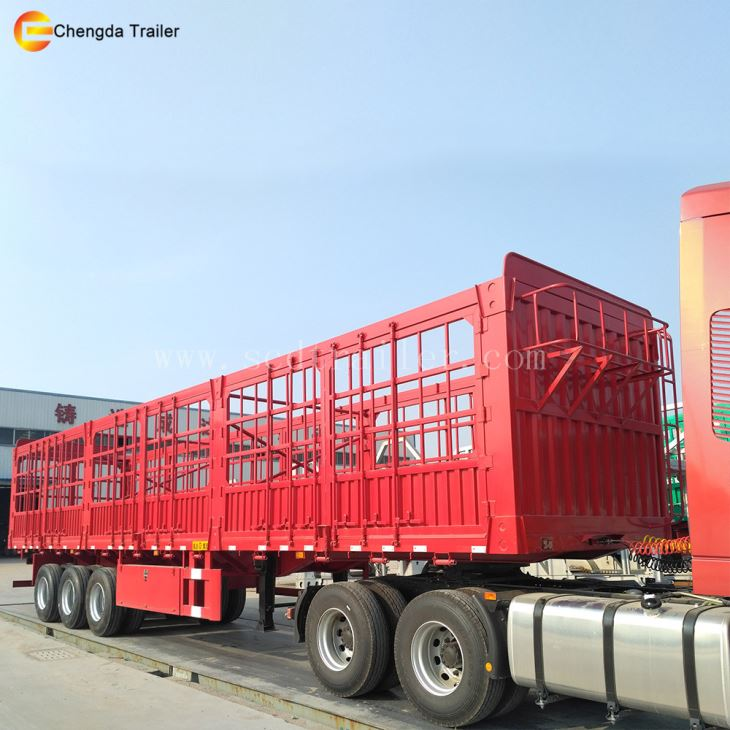 40ft Cargo Trailer With High Fence