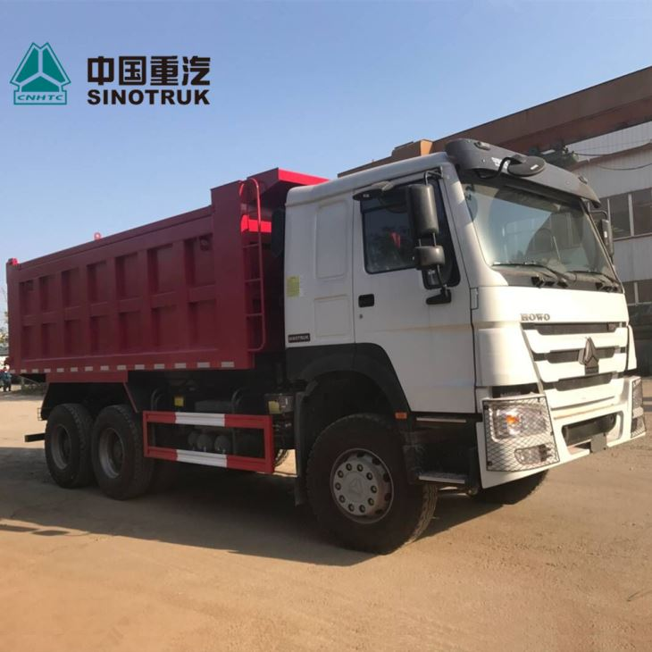 6X4 371hp 10wheeler Dump Truck For Ghana