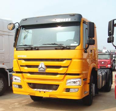 HOWO 380hp 6 Wheeler Prime Mover Tractor Truck Head