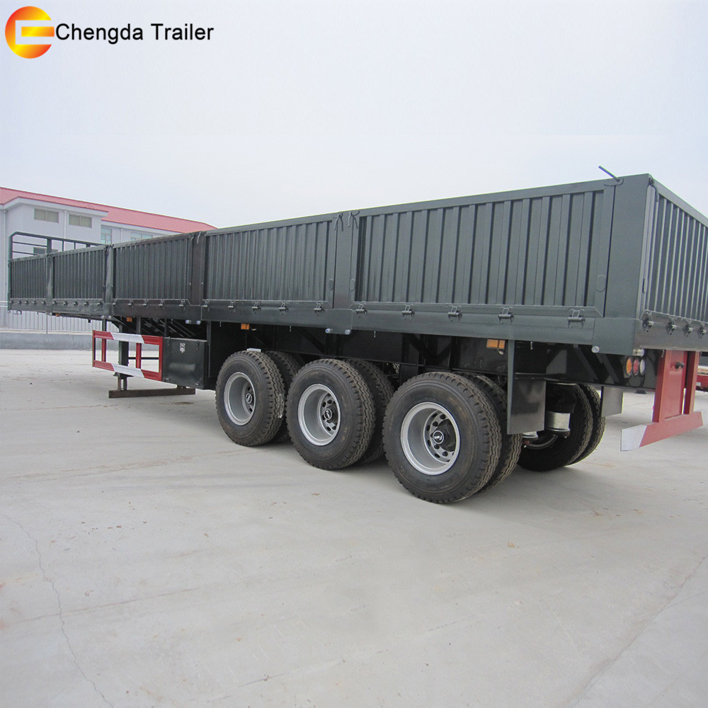 5 Axles Low Bed Trailer For Africa - Product Information