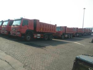 17cbm HOWO 336HP 10 Wheeler Dump Truck For Ethiopia