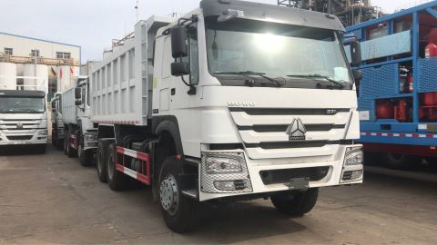 2 Units Of Sintruck HOWO Dump Truck Sold To Africa