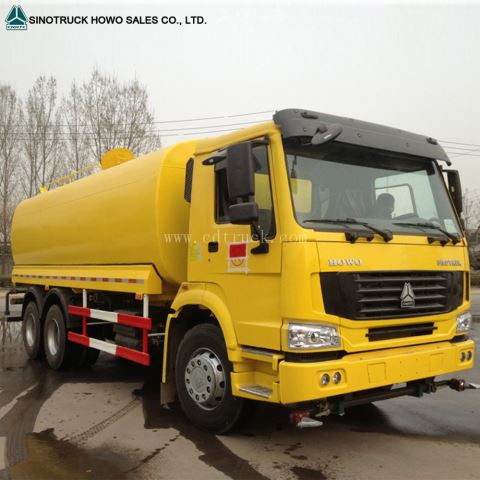 20000 Liters 25000 Liters 336hp Fuel Tank Truck For Sale