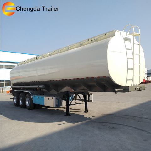 3 Axle 30000liters Oil Fuel Gasoline Tanker Trailers For Sale