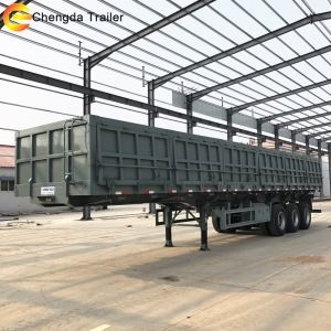 3 Axle Chengda Side Tipper Trailer For Sale