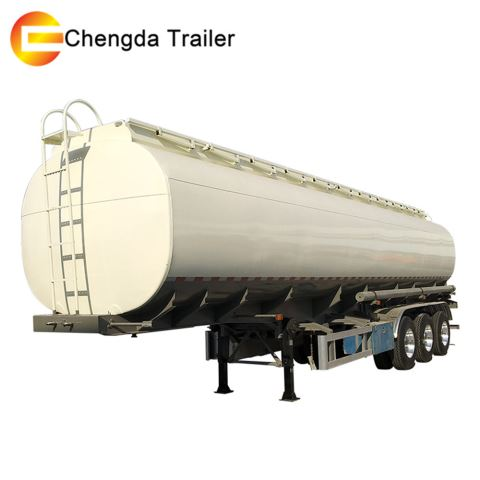 3 Axles 5 Compartment 45 CBM Oil Fuel Tank Tanker Trailer