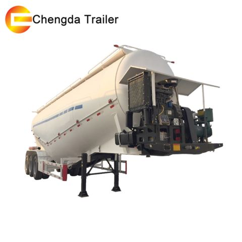 3 Axles 50 Ton 60tons Bulk Cement Tanker Bulker Trailer Tank