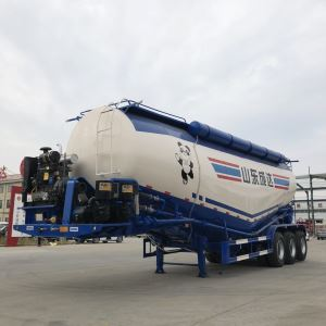 3 Axles Chengda 45 60 Tons Cement Trailer