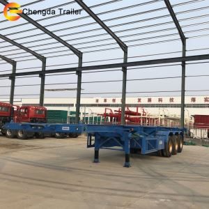 3 Axles Skeleton Container Trailer