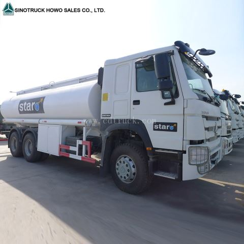 336hp Howo 10 Wheeler Fuel Transportation Tank Truck