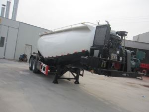 Cheap 2 Axle New Used 20m3-30m3 Bulk Cement Tanker Trailer Truck