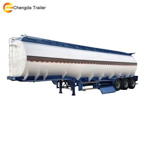 Chengda 40000liters Fuel Tank Trailer