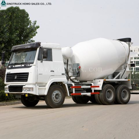 Howo 8m³ 9m³ 10m³ Self-loading Concrete Mixer Truck Price