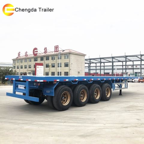 Low Price High Quality 45ft Truck Semi Trailer/Box/Van Semi Trailer For Sale