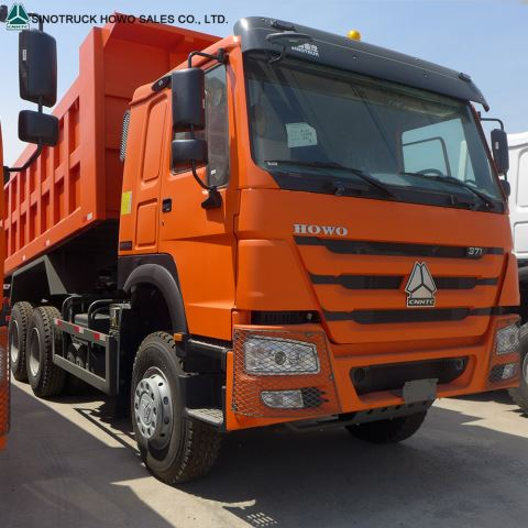 Sinotruck Howo Dumper Truck 6x4 336 371 10 Wheeler 40Tons Tipper Truck Dump Truck With Low Price