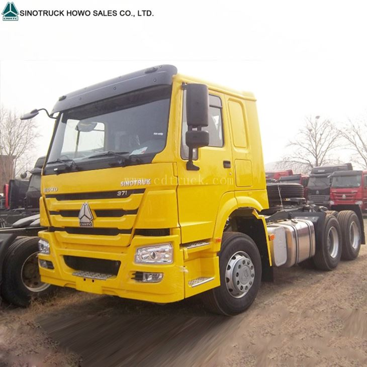420 Hp Sinotruk Howo 6x4 Prime Mover Truck Tractor Head